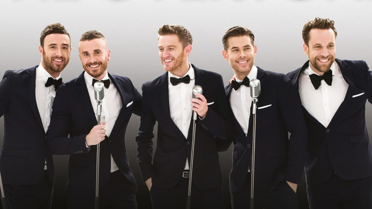 Christmas with The Overtones at Brighton Dome