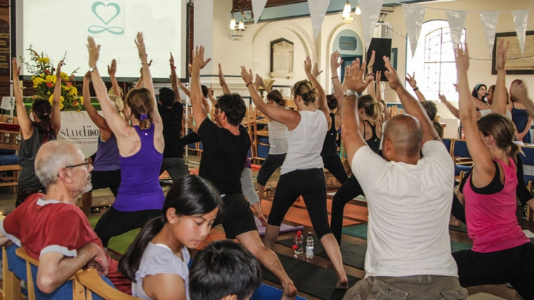 Brighton Yoga Festival at Brighton Dome