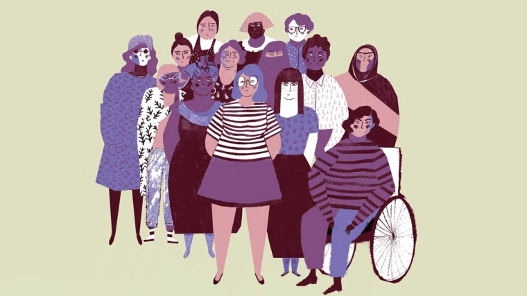 International Women's Day Celebration illustration