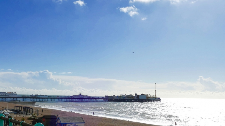 Brighton seafront and pier