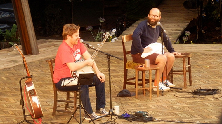 Daniel Kitson and Gavin Osborne at Brighton Dome