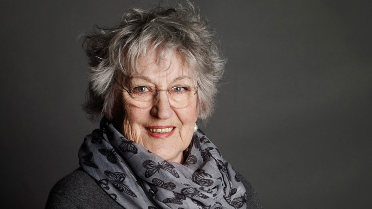 Germaine Greer at International Women's Day at Brighton Dome