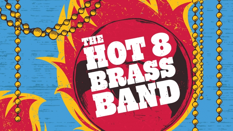 Hot 8 Brass Band bring Mardi Gras to Brighton Dome