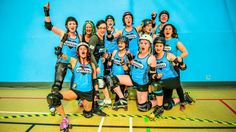 Brighton Rockers Roller Derby at Brighton