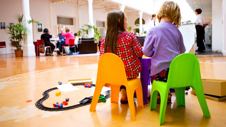 Participatory activities for children at Brighton Dome