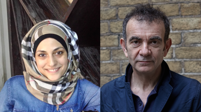 An image of Marwa al-Sabouni and Tristan Sharps. Guest Co-Directors for Brighton Festival 2022