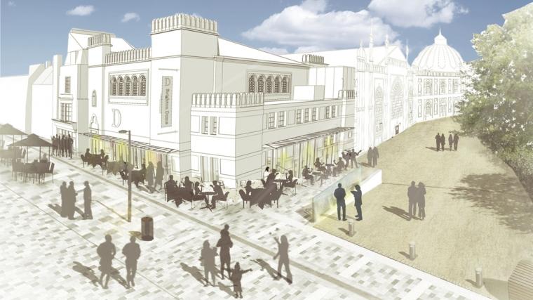 Studio Theatre and New Rd Cafe - Credit LT Studio