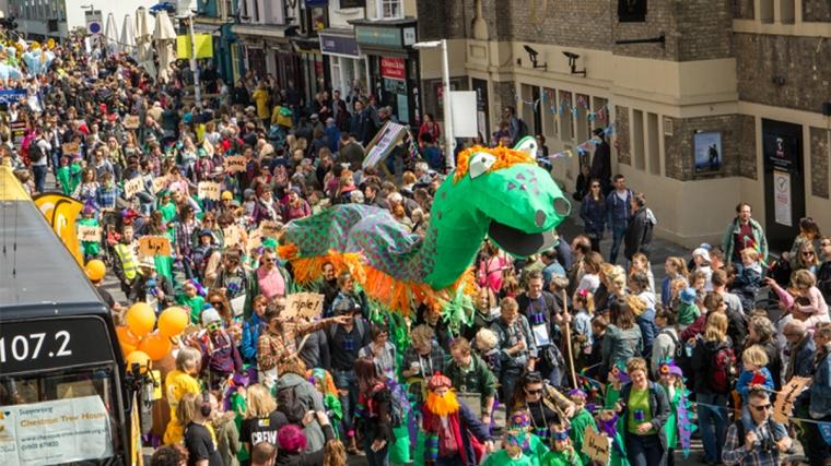 2017 children's parade - Brighton Festival