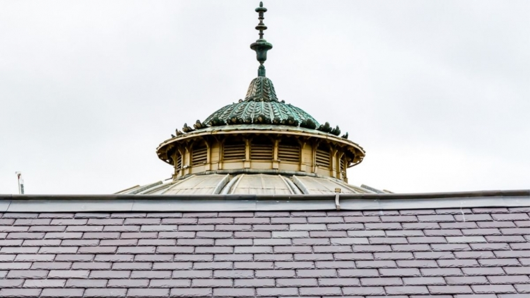 An image of the Corn Exchange Roof