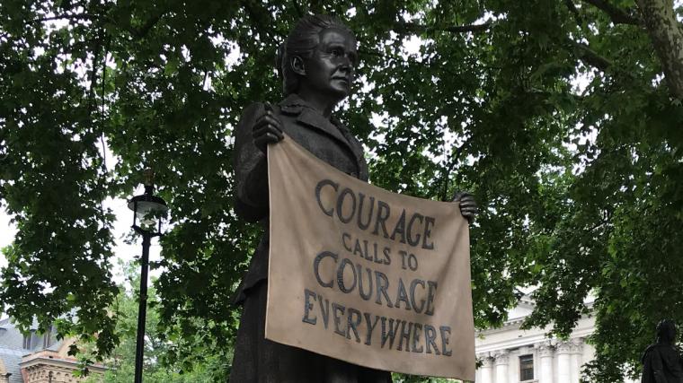 Millicent Fawcett Statue in London