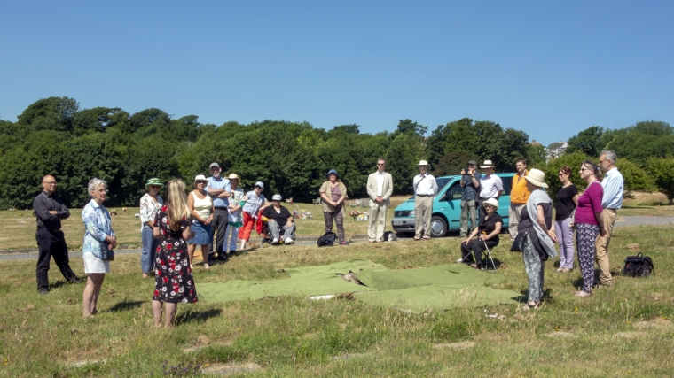 The 200 to 300-year-old remains of 18 individuals, discovered during redevelopment work at Brighton Dome Corn Exchange on the city's Royal Pavilion Estate last year, have been laid to rest at the Memorial Cemetery, Woodingdean.