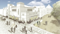 Phase one of the Royal Pavilion Estate Project