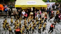 Riverford Stall at the 2015 Brighton Festival Children's Parade