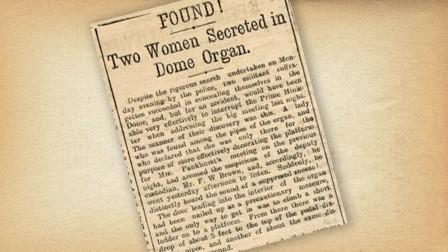 Suffragette Argus Article