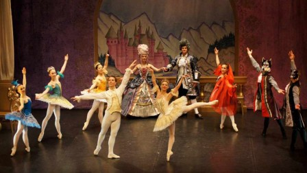Sleeping Beauty performed by Ballet Theatre UK on stage at Brighton Dome