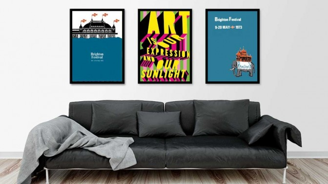 Brighton Festival Screen Prints