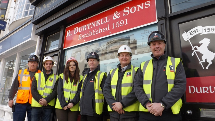 R Durtnell & Sons construction team for Brighton Dome's Designing Our Future