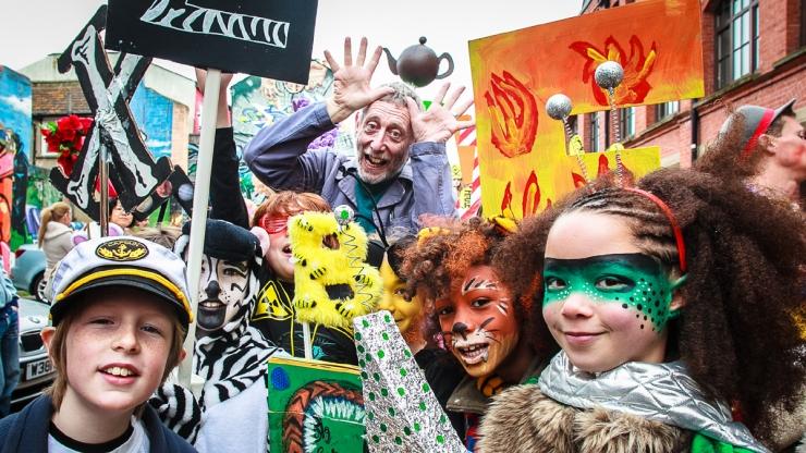 Brighton Festival Children's Parade 2013