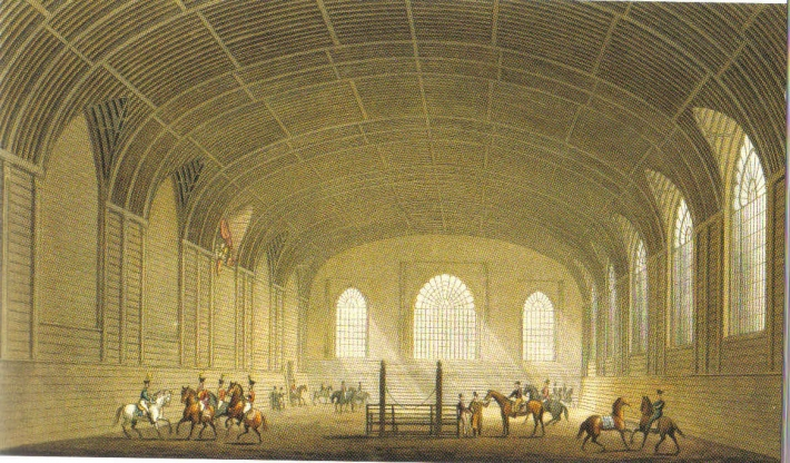 The stables and riding house (1803 - 1808)
