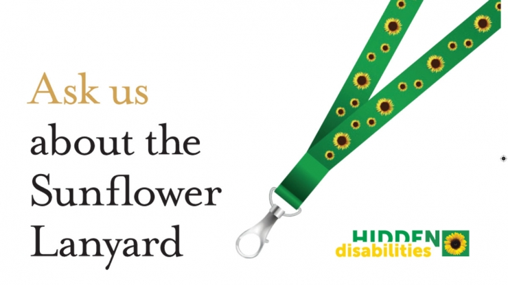 Ask us about the Sunflower Lanyard