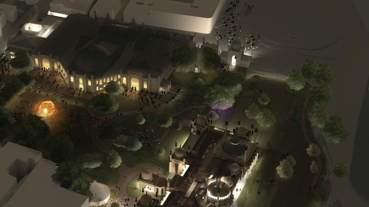 Vision of the Royal Pavilion Estate