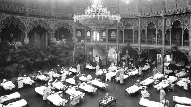 Military hospital for Indian soldiers during WWI