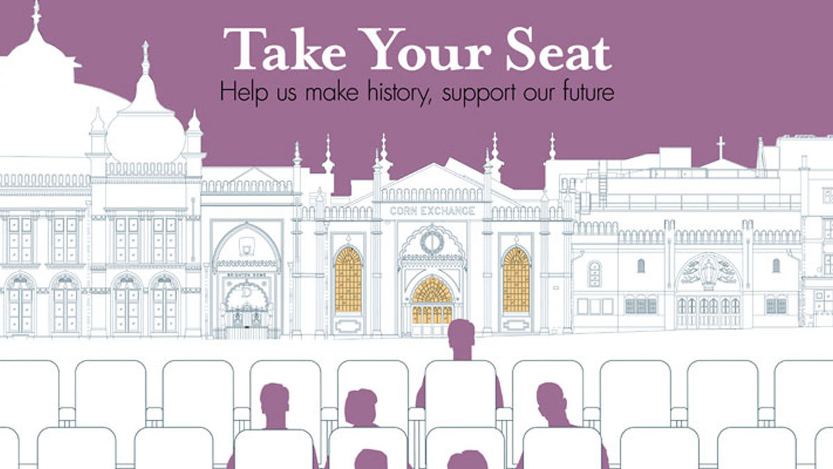 Take Your Seat. Help Us Make History, Support Our Future