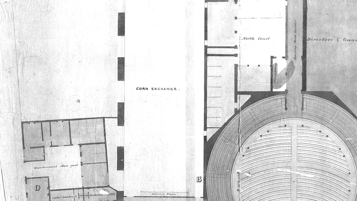 Corn Exchange Floorplan