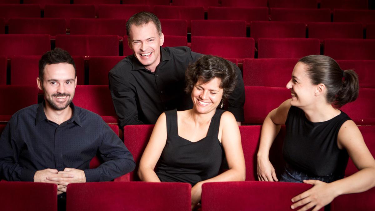 Elias String quartet at Brighton Dome