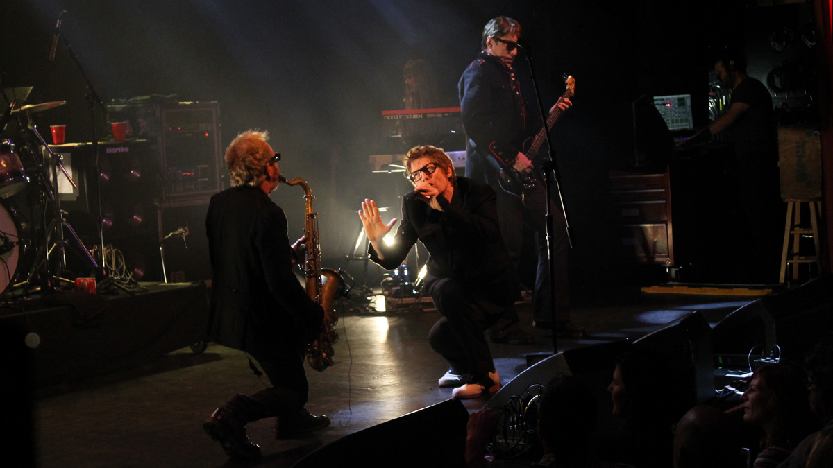 Psychedelic Furs on stage. Photo by Maggie Butler