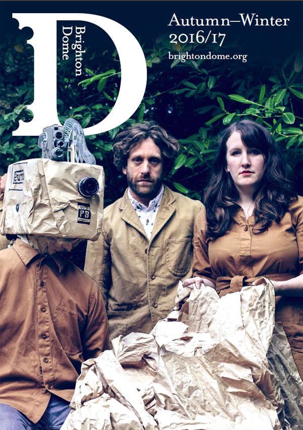 Brighton Dome Brochure Cover Autumn - Winter 2016