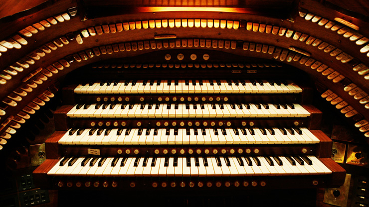 Brighton Dome Concert Organ. Photo by Matthew Andrews.