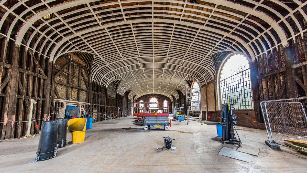 Royal Pavilion Estate project progress