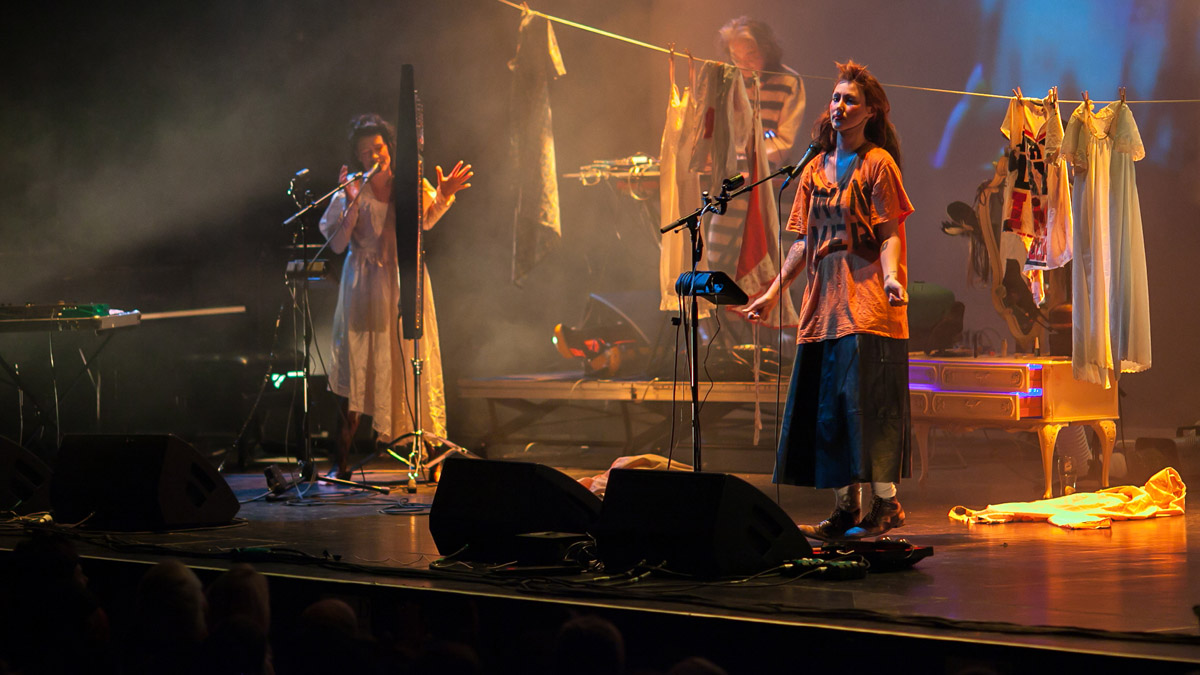 CocoRosie at Brighton Dome