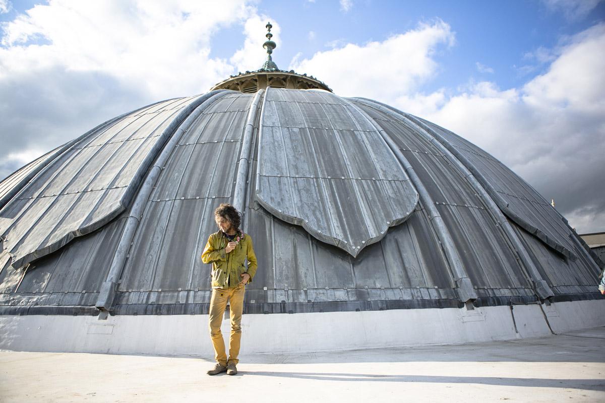 Wayne Coyne Brighton dome photo by Vic Frankowski