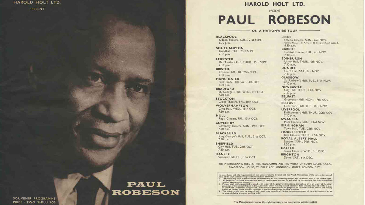 Paul Robeson Programme