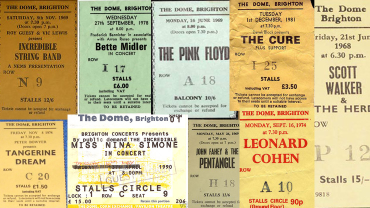 Brighton Dome - History & Heritage - Musical Milestones